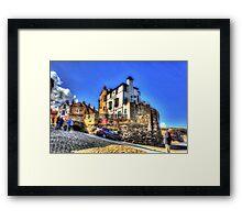 The Bay Hotel Framed Print