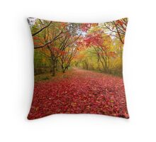 Alice holt forest ride Throw Pillow