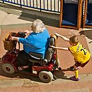 Slow down Grandma! by John Thurgood