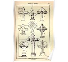 A Handbook Of Ornament With Three Hundred Plates Franz Sales Meyer 1896 0189 Free Ornaments Cross Poster