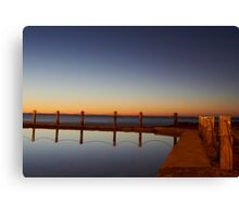 Mahon Pool Reflection Canvas Print