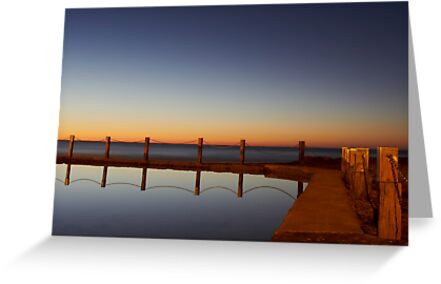 Mahon Pool Reflection by Mark  Lucey
