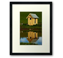 """The Pumphouse"" Framed Print"