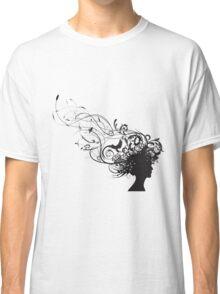 girl face design Classic T-Shirt