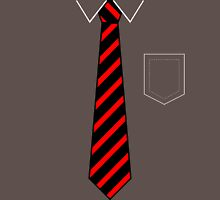 Tie & Pocket Unisex T-Shirt
