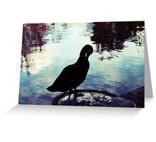 Lomo duck! Greeting Card