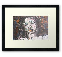 Life's traces Framed Print