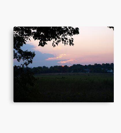 Battlefield Sunrise Canvas Print