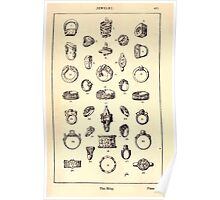 A Handbook Of Ornament With Three Hundred Plates Franz Sales Meyer 1896 0501 Jewelry Ring Poster
