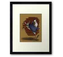 Fable Chicken Run! Framed Print
