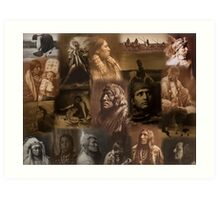 Native Americans Art Print