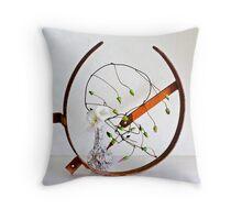 Ikebana-207 Throw Pillow