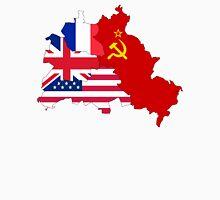 berlin east west flag Unisex T-Shirt