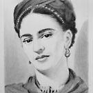 Frida Kahlo by Douglas Hunt