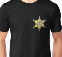 Sheriff Star Unisex T-Shirt