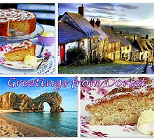 Greetings from Dorset by ©The Creative  Minds