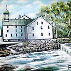 Old Slater Mill by Pamela Plante