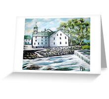 Old Slater Mill Greeting Card