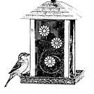 Bird On The Feeder by AngieM