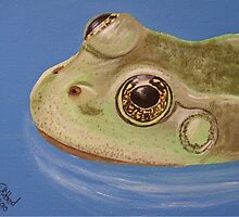 British Wildlife Set 1 - Frog by Elizabeth Hibberd