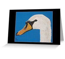 British Wildlife Set 1 - Swan Greeting Card