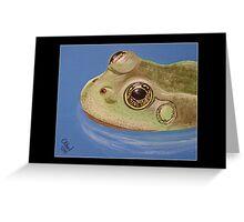 British Wildlife Set 1 - Frog Greeting Card