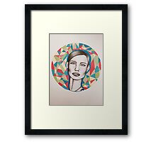 Crown Called Content Framed Print