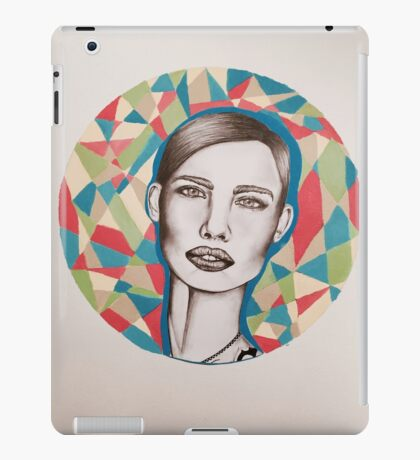 Crown Called Content iPad Case/Skin