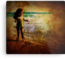 Sheer Delight of Discovery Metal Print