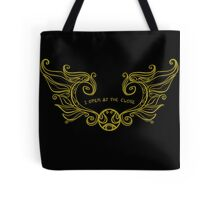 I Open at the Close - Gold Version Tote Bag
