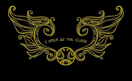 I Open at the Close - Gold Version by Karen  Hallion