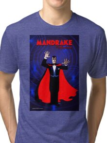 MANDRAKE THE MAGICIAN Tri-blend T-Shirt