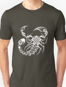Scorpion floral ornament style T-Shirt