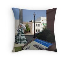 Occupation of McMinnville Throw Pillow