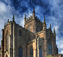 The Abbey Church of Dunfermline by Tom Gomez