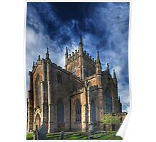 The Abbey Church of Dunfermline Poster