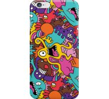 Colorful Monsters iPhone Case/Skin