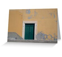 The doors we open  Greeting Card