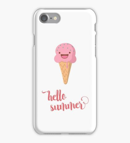 Hello summer... iPhone Case/Skin