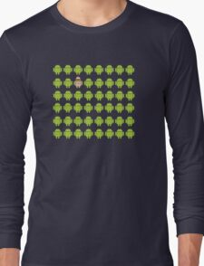 Where's Waldroid advanced Long Sleeve T-Shirt