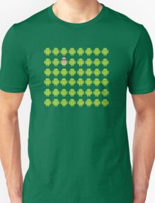 Where's Waldroid advanced Unisex T-Shirt