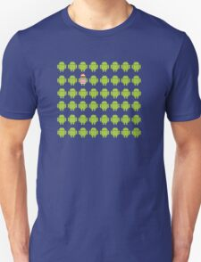 Where's Waldroid advanced Unisex T-Shirt