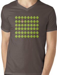 Where's Waldroid advanced Mens V-Neck T-Shirt