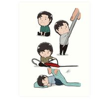 Tiny Will Graham 4 in 1 Art Print