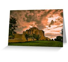 Cardston Alberta Temple Greeting Card