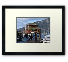 Cowichan Bay (1) Framed Print