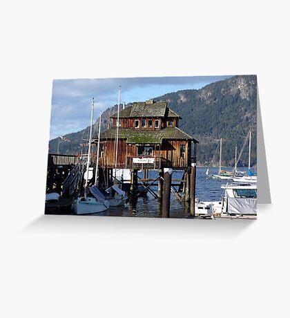 Cowichan Bay (1) Greeting Card