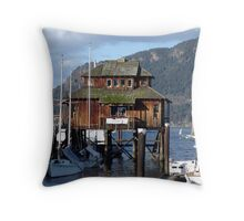 Cowichan Bay (1) Throw Pillow