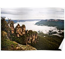 Three Sisters - Blue Mountains Poster