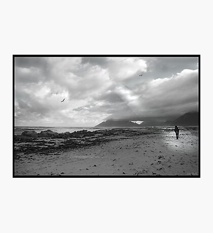 Walking on the beach - Kommetjie, near Cape Point Photographic Print